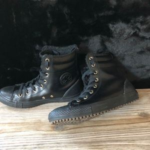 Converse CT All Stars Leather Fur Boots Xhi